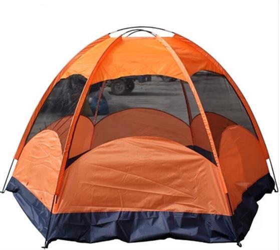 אוהל ל 5-8 אנשים שכבה כפולה עמיד בגשם