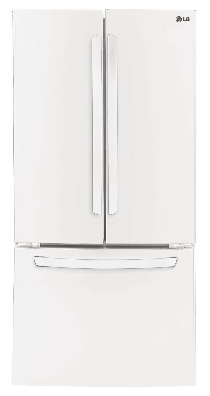 מקרר מקפיא תחתון  LG צבע לבן דגם:  GRB240RWA