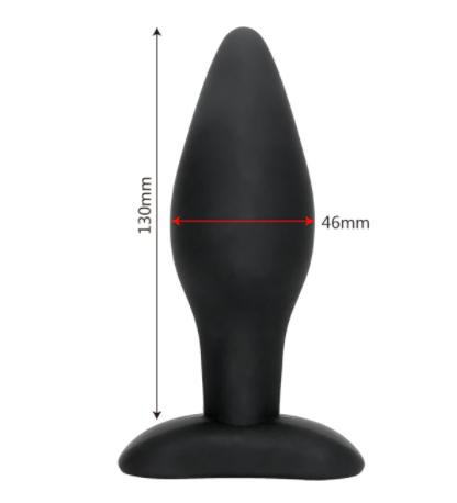 """פלאג איכותי בצבע שחור 13 ס""""מ רוחב 4.5"""