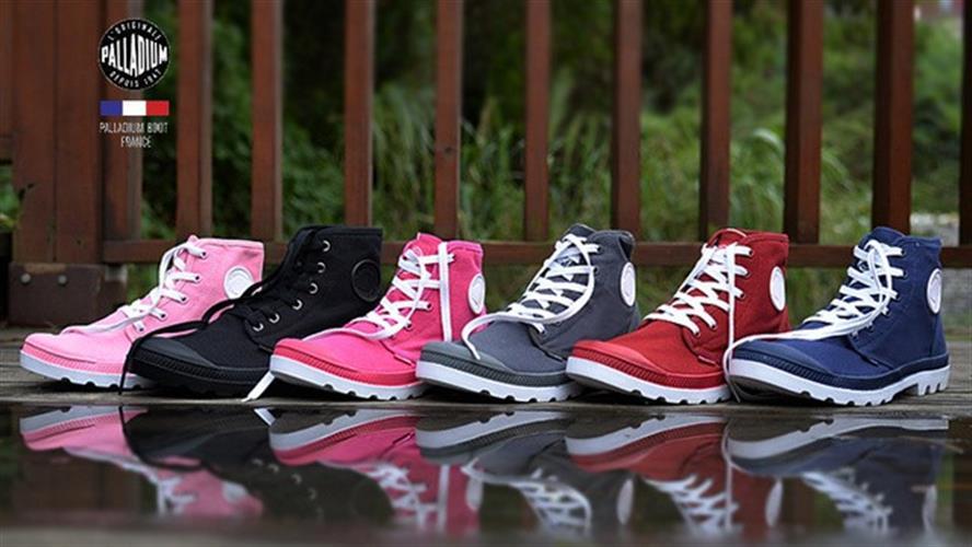 נעלי canvas PALLADIUM לגברים ונשים