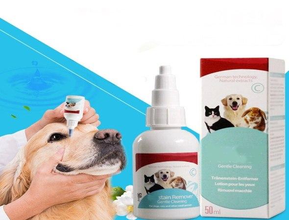 מסיר כתמי דמעות ולכלוך מתאים לכלבים ולחתולים מכל הסוגים
