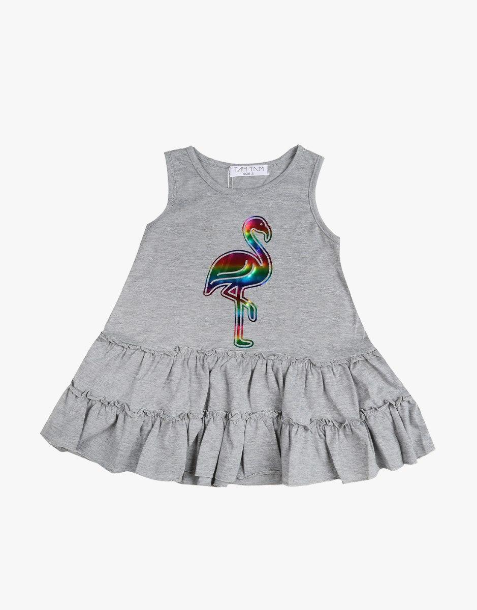 שמלה לבנות  פלמינגו