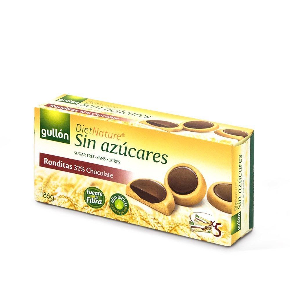 עוגיות במילוי שוקולד ללא סוכר