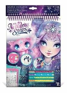חוברת צביעה ועיצוב נבוליה Nebulous Stars