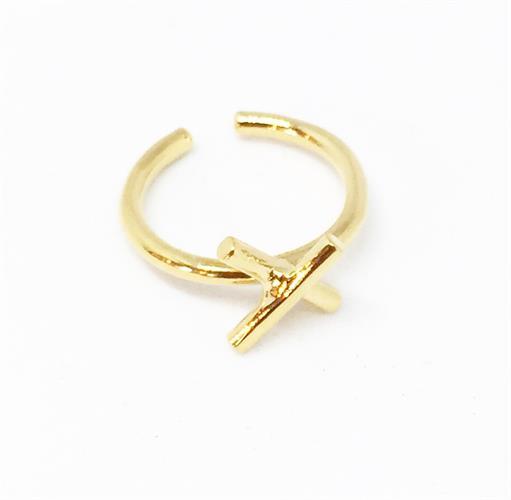 טבעת איקס זהב
