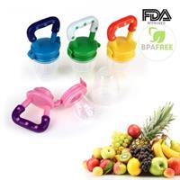 מוצץ פירות לתינוקות בצבעים וגדלים שונים