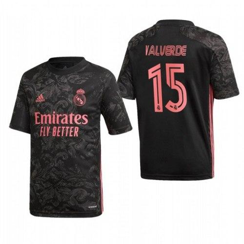 חולצת משחק ריאל מדריד שלישית 20/21 - VALVERDE 15 (מידה L)