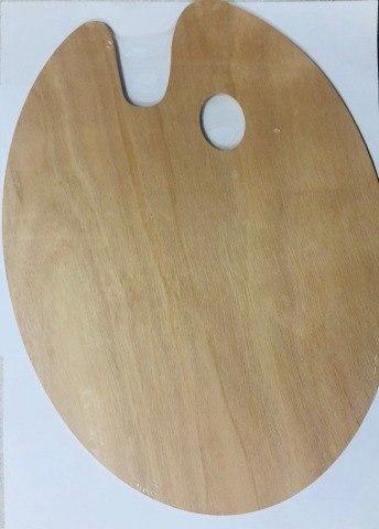 """פלטת עץ לציור  24X30 ס""""מ"""