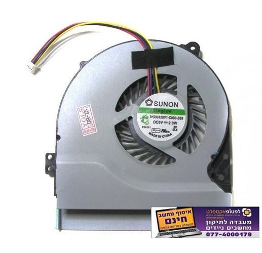 מאוורר למחשב נייד אסוס ASUS X550 X550V X550C X550VC X450 X450CA Fan