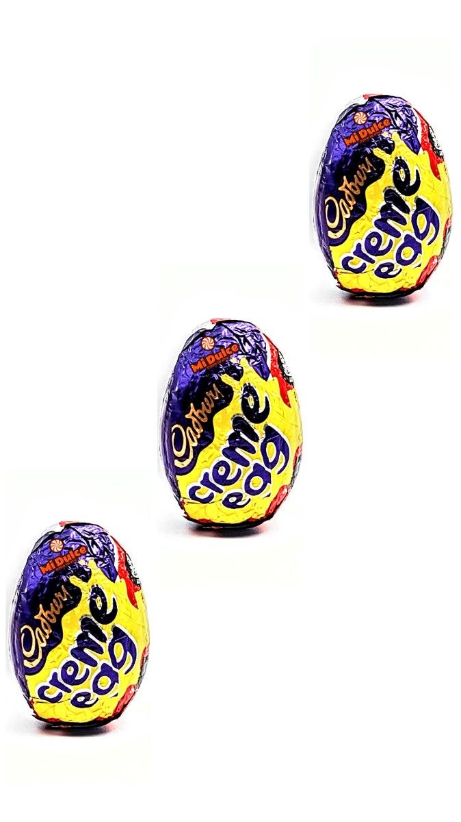 Cadbury Creme Egg,שלישייה!