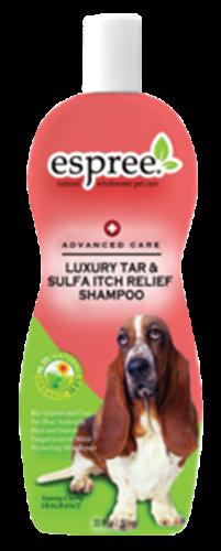 שמפו זפת להקלה מגירודים לכלב 590 מיל אספריי espree