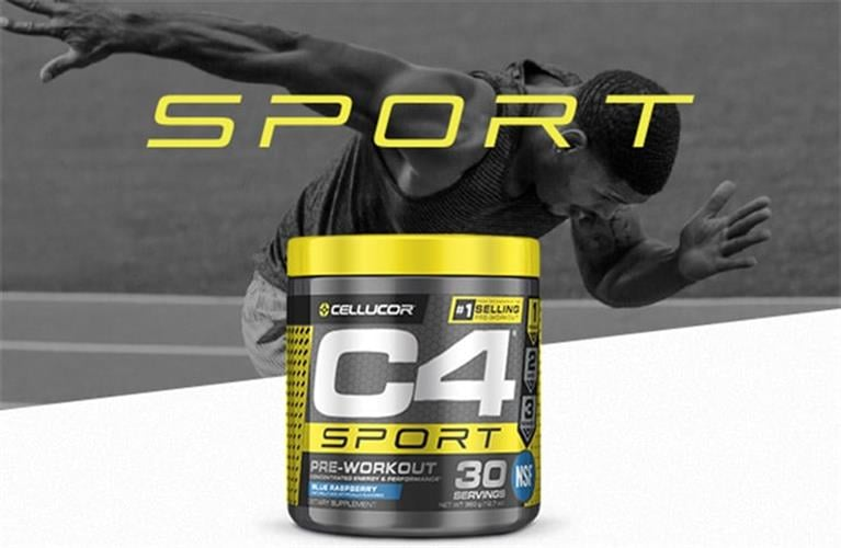 Cellucor, C4 Sport-קדם אימון 30 מנות מותאם לפעילות אירובית