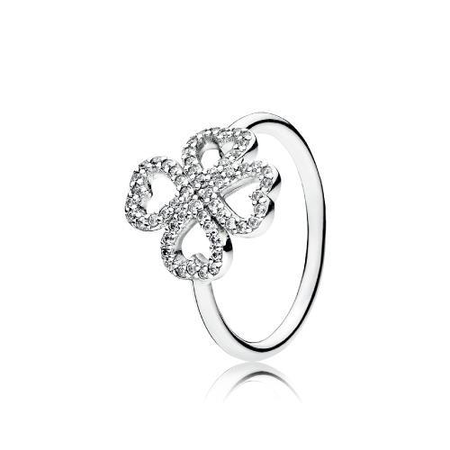 טבעת כסף פנדורה 190978CZ