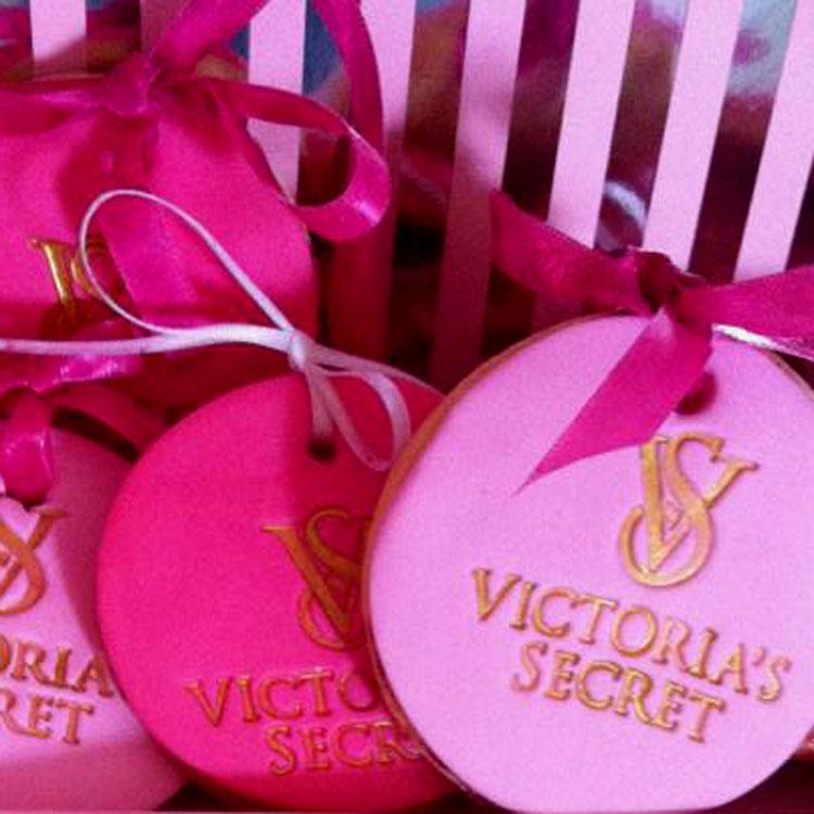 Set of 3 Victoria's secret logo Stamps