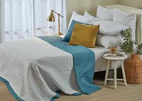 כסוי מיטה יחיד דגם סאמר