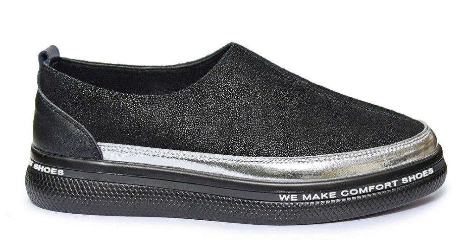 נעלי סניקרס נוחות לנשים עור דגם - G37-183