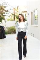 חולצה מבריקה שרוול