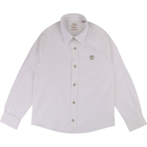 TIMBERLAND KIDS WHITE BUTTONS SHIRT