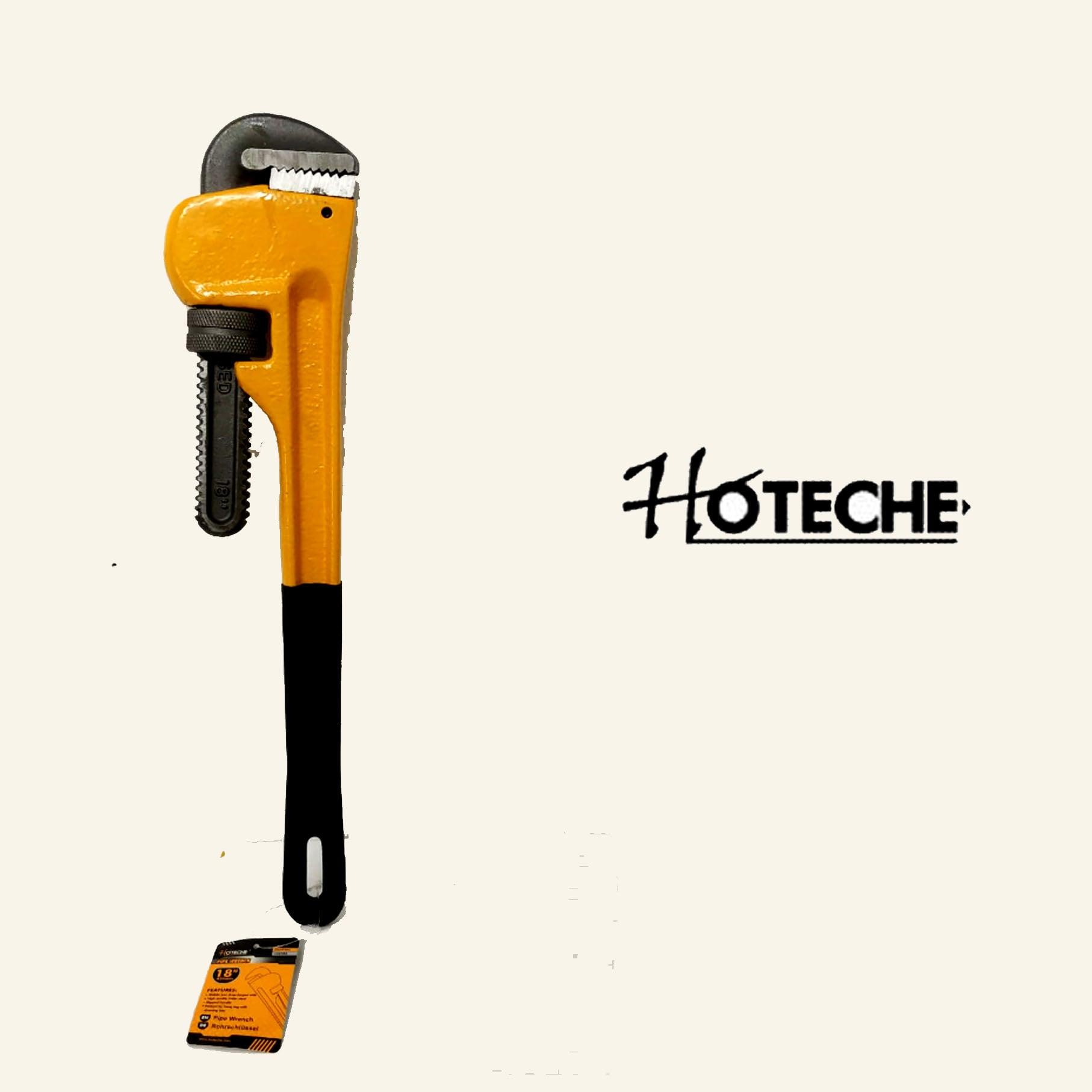 """מפתח צינורות מקצועי 18""""  מבית חברת HOTECHE"""