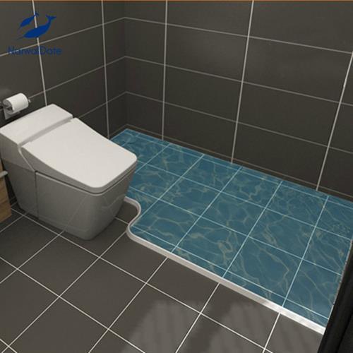 מחיצה סיליקון נגד מים מתאים למקלחת/כיור
