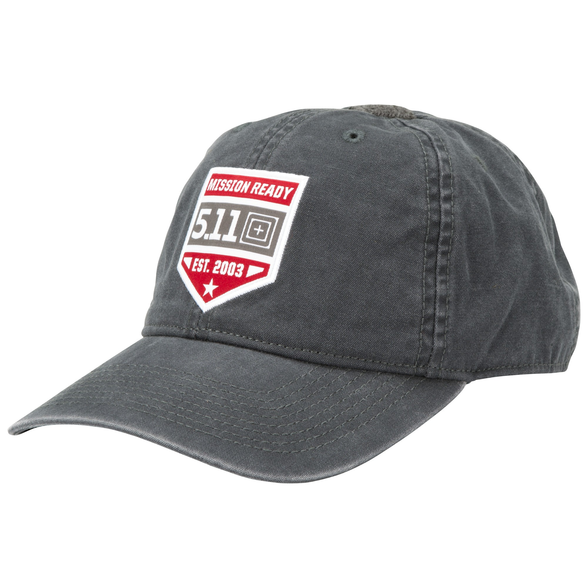 כובע טקטי שחור 5.11 MISSION READY™ CAP Black