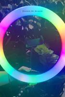 רינג לייט 33 סיימ  RGB גווני קשת 30W