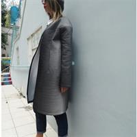 מעיל אטלס גווני אפור משתנים