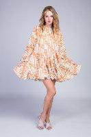 שמלת ניקי שילוב חגורת צמה