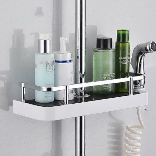 מדף למקלחת ללא קידוח