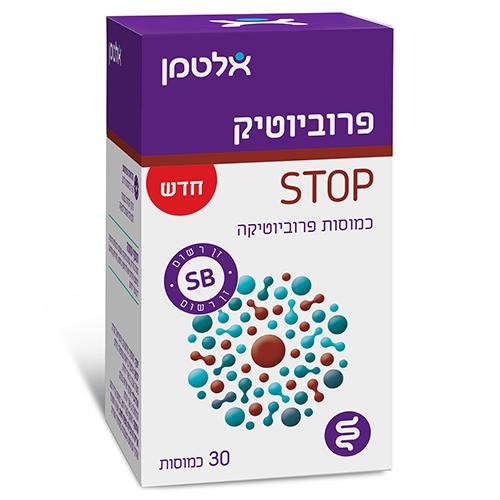 פרוביוטיק STOP, מכיל 30 כמוסות, אלטמן
