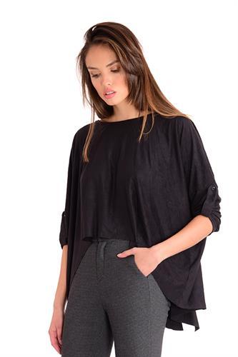 חולצה סוליי שחור