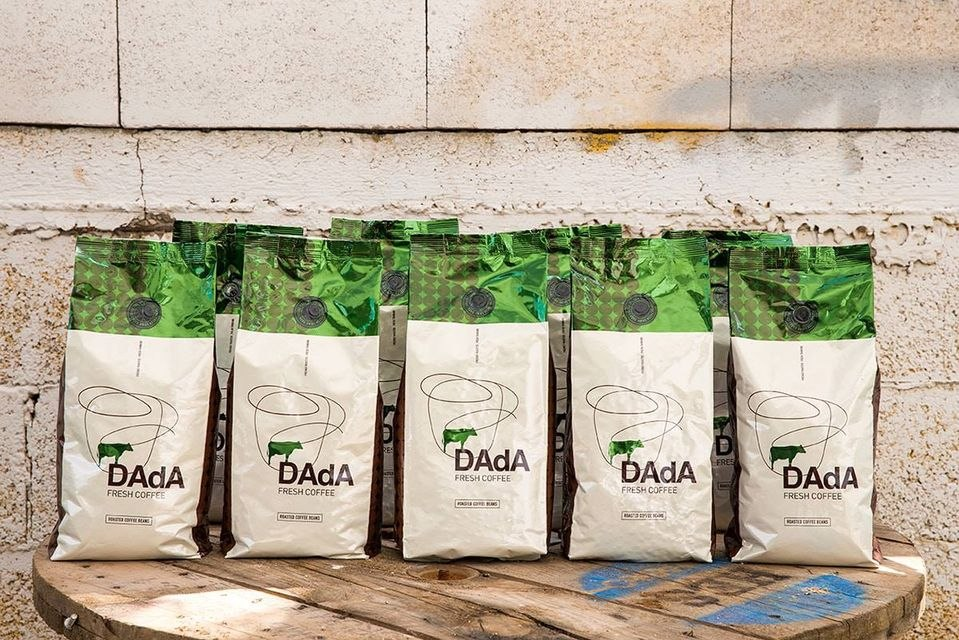 פולי קפה דאדא אמרלד 1 קג Dada Emerald