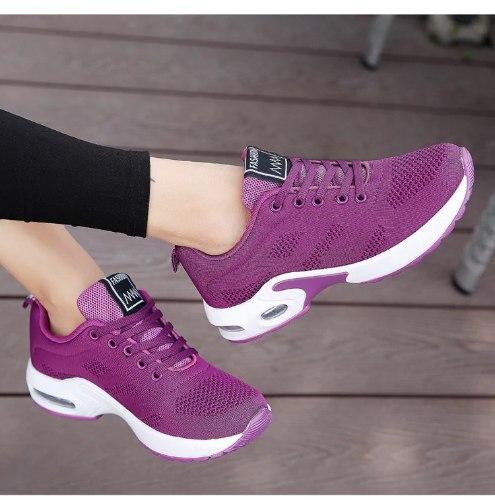 נעלי הליכה/ריצה , רשת לנשימה קלות משקל - נשים