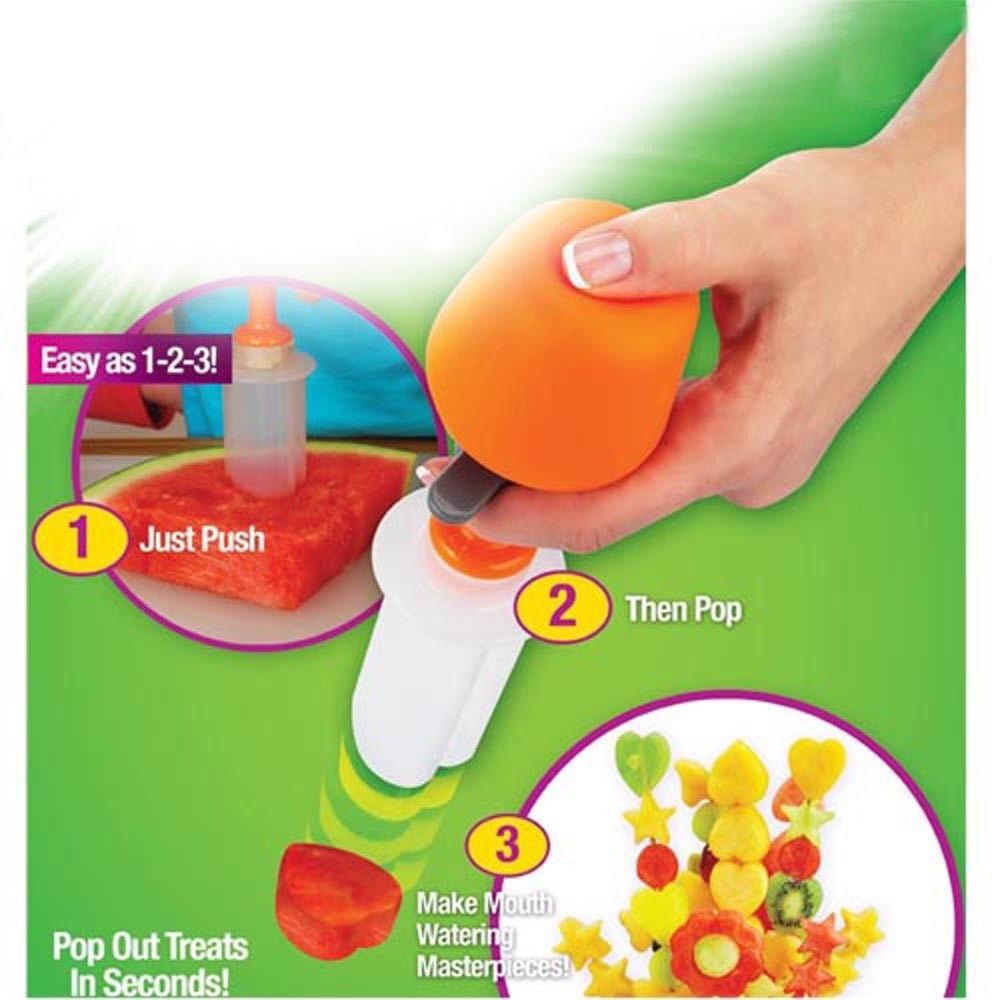 כלי לעיצוב פירות וירקות בצורות שונות