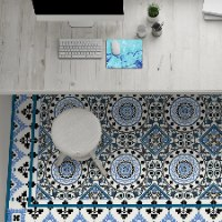 שטיח פי.וי.סי סנטוריני  TIVA DESIGN קיים בגדלים שונים