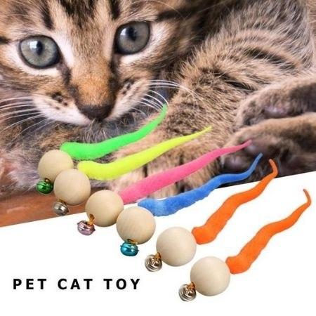 צעצוע כדורי מאתגר וכיף לחתולים