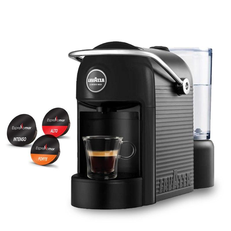 מכונת קפה Lavazza Jolie  ו144 קפסולות קפה תואמות במתנה