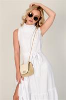 שמלת שירז לבנה