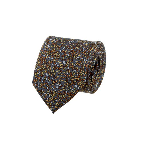 עניבה זיקוקים ברונזה - זהב