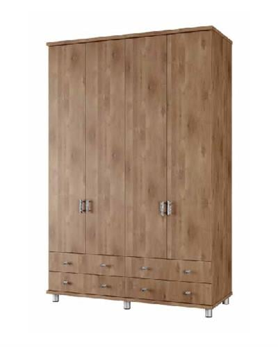ארון 4 דלתות 4 מגירות דגם לילך