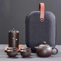 מארז לתה סיני עשוי קרמיקה לקמפינג