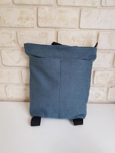תיק גב מבד נבית כחול