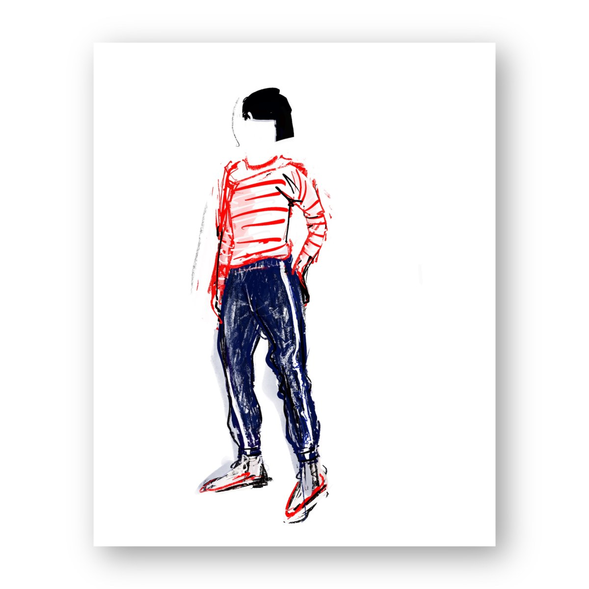 איור אופנה #31