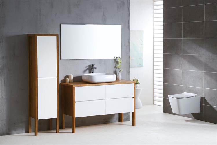 ארון אמבטיה עומד קלאסי דגם מון MOON