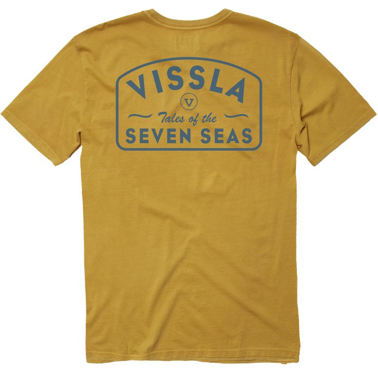 VISSLA Plain Sailing Pocket Tee