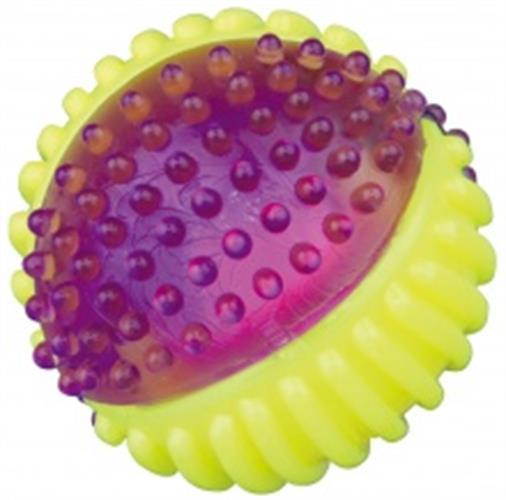 כדור גומי קשיח עם אור