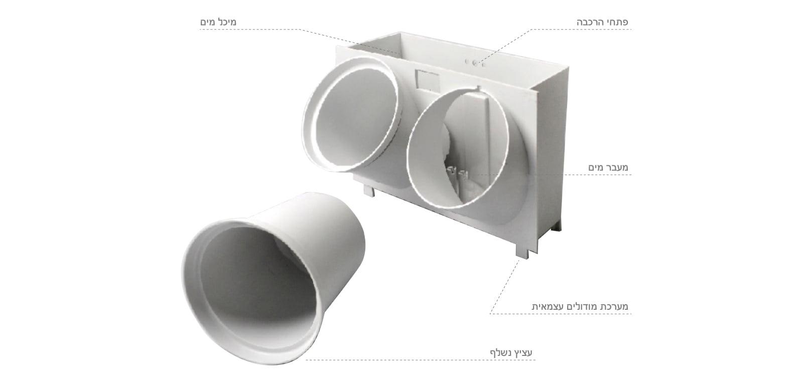 """מערכת הידרו קיר ירוק פיקסל גארדן 14 ס""""מ PIXEL GARDEN"""