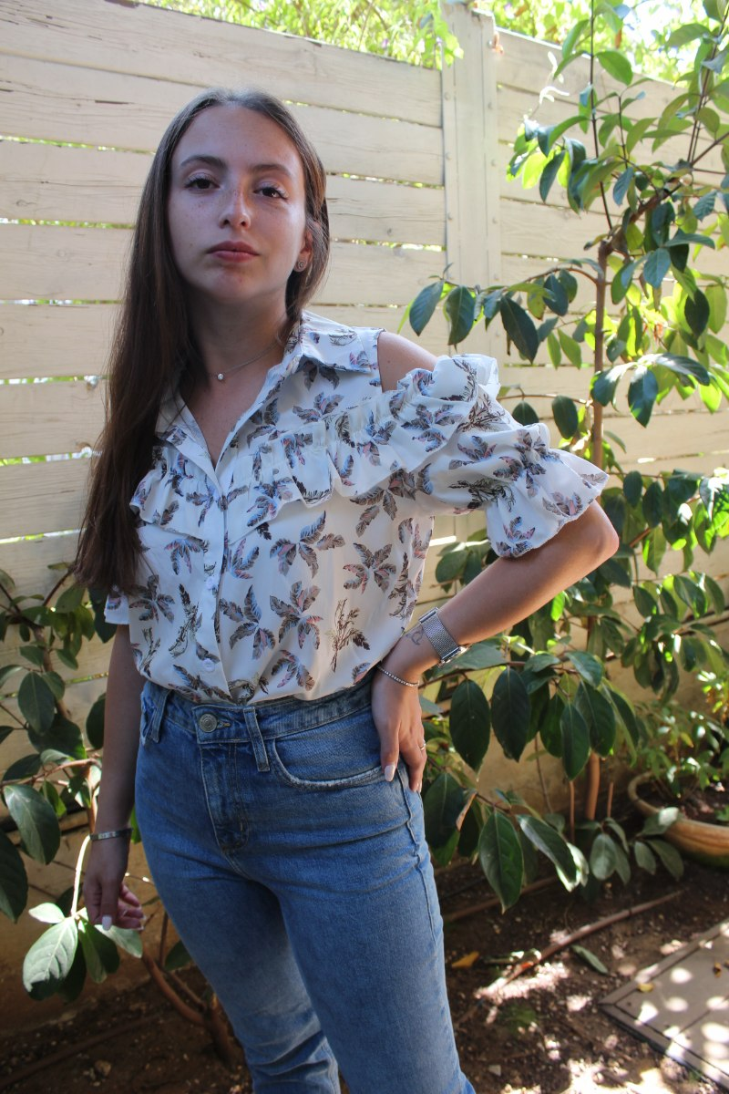 חולצת סקאי לבנה