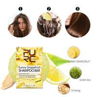 שמפו מוצק אורגני להגנה על שיער צבוע