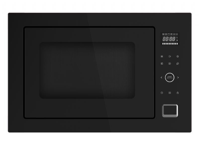 מיקרוגל דיגיטלי משולב להתקנה בנויה MIDEA AC034BJS שחור